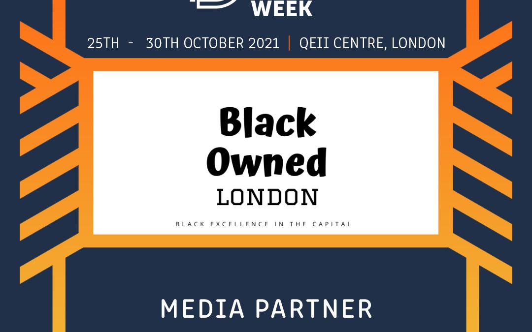 Black Owned London to Partner UK Black Business Week 2021